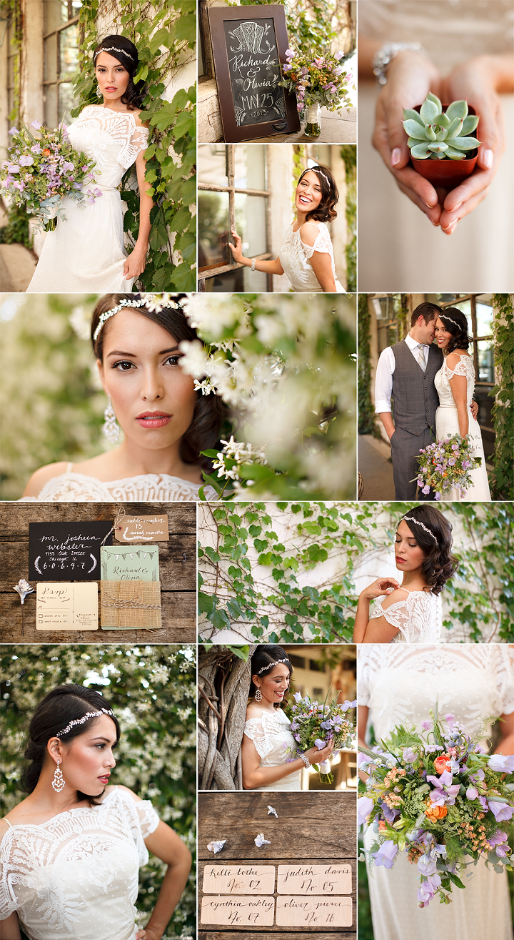 styled 1920s inspired bridal session houston tx